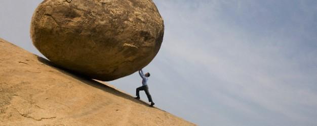 rock-pushing